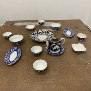 Usbekische Teezeremonie